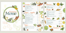 Design menu.