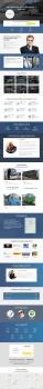 Лендинг для компании по пассажирским перевозкам
