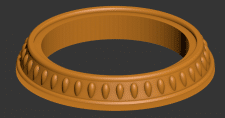 3D-модель багета для led-светильника