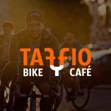 Логотип вело-кафе Taffio