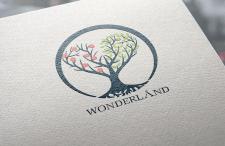Дизайн логотипа для ботанического сада закрытого т