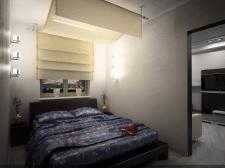 Квартира 40 м. Спальня