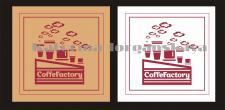 концепция логотип кофейни