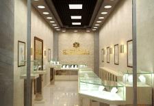 Дизайн интерьера ювелирного бутика