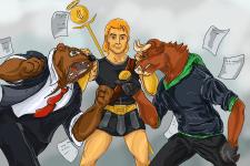 Битва титанів (фондова біржа)