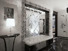 Дизайнерские услуги по разработке зеркальных панно