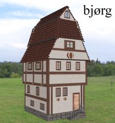 3D модель здания для игрового экстерьера