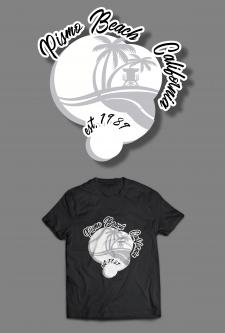 "Логотип/дизайн на футболке для ""Pismo Beach Club"""