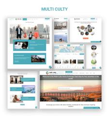 """Веб-сайт """"Multi-Culty"""""""