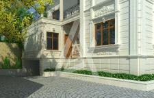реканструкциа трёхэтажный индивидуальный дома