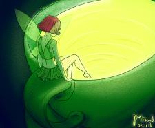 """Иллюстрация """"Волшебный чай"""""""