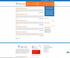 Верстка + Натяжка на WORDPRESS (Сайт с 0)