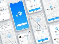 Мобильное приложение для службы такси