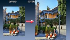 Исправление геометрии фотографии