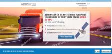 Главная страница для сайта немецкой компании