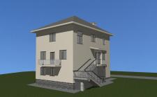 Індивідуальний житловий будинок в м. Дніпро