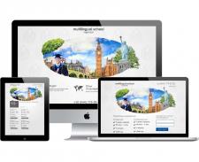 Дизайн страниц сайта школы языков