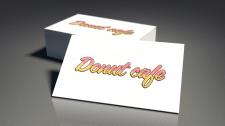 Логотип для Donut Cafe