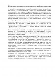 В Воронеже полиция задержала хулиганов