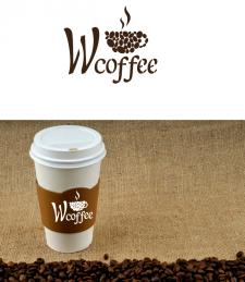"""Логотип для кофейни """"W coffee"""""""