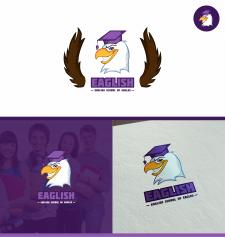 Логотип EAGLISH