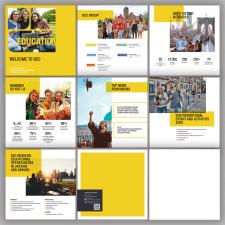 дизайн и верстка презентации/брошюры