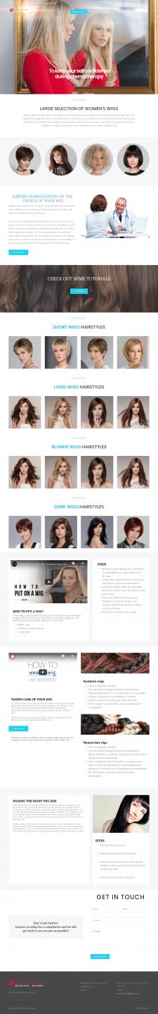 Мульти-лендинг париков