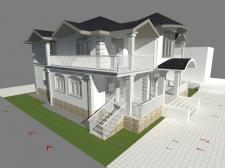 Проект дома в Актау, Казахстан
