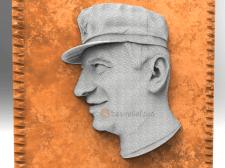 3D портрет для резки и печати на ЧПУ. Частный зака