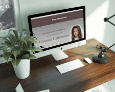 Разработка сайта для ведущей мероприятий
