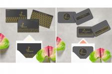 Разработка именного логотипа+визитки