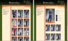 Наполнение коллекции одежды. MODx CMS Manager