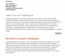 Перевод и верстка для главной сайта на голландский