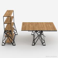 Стол-трансформер в стиле Loft