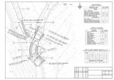 План сооружения на топосъемке