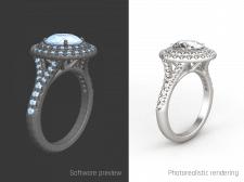 моделирование свадебного кольца