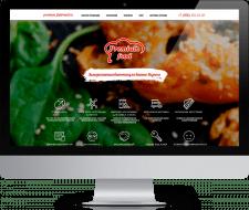 Интернет магазин  для компании«Премиум Фуд»