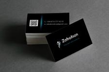Дизайн визитки для Zabobon