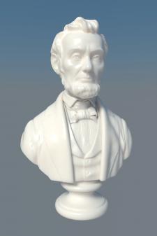 Модель бюста А . Линкольна