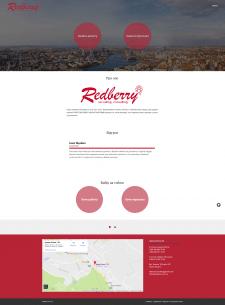 Сайт компании Redberry