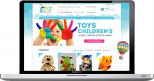 Создание интернет-магазина детскиx игрушек