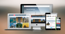 Шаблон адаптивного сайта для тур агенства