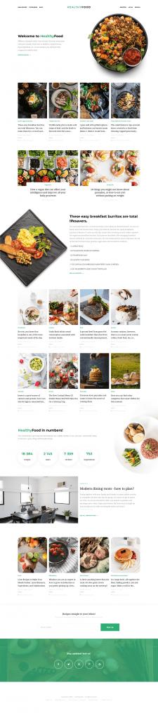 HealthyFood | поиск рецептов здоровой еды