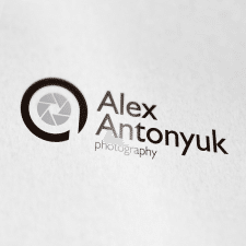 Логотип для фотографа Александра Антонюка.