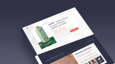 Сайт на тильде для строительной организации