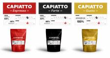 Оформление упаковок для кофе
