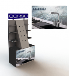 """Выставочный стенд для ТМ """"Corso"""""""