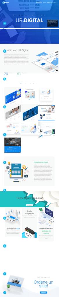 Разработка сайта для веб-агенства