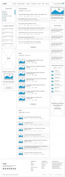 Проектирование юридического портала - ПК версия