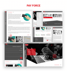 "Corporate Website ""Pay Force"""